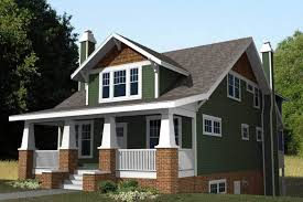 small craftsman style home plans with green wall paint country