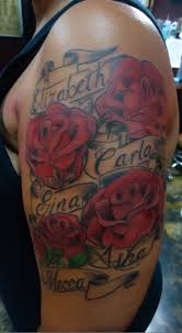 best 25 rose tattoo with name ideas on pinterest tatoo rose