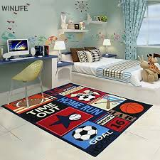 boys bedroom rugs winlife balls print kids rugs cartoon balls boys bedroom carpet 100