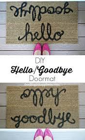 Doormat Leave 25 Diy Doormats That Are Almost Too Cute To Wipe