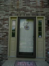 pleasant floortile and elegant front door designs with low handle