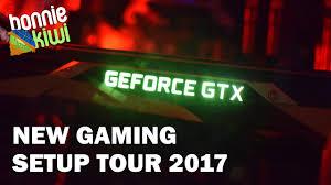 new pc game room setup tour 2017 youtube