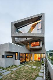 13 modern house exteriors made from concrete concrete smooth