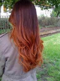 does hair look like ombre when highlights growing out the 25 best brown to red ombre ideas on pinterest red ombre