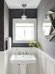 powder rooms with wallpaper wallpaper powder room houzz