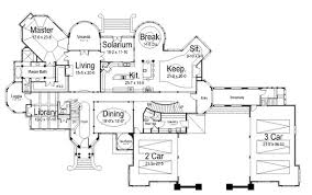 luxury mansion floor plans this one has everything including an above garage apartment if