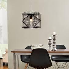 ladario sala da pranzo plafoniera nero metallo ladario a pendolo sala da pranzo