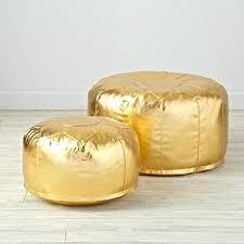 best gold pouf ideas on simple apartment decor moroccan ottoman