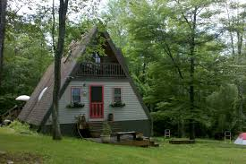adirondack mountainside a frame cabins for rent in jay new york