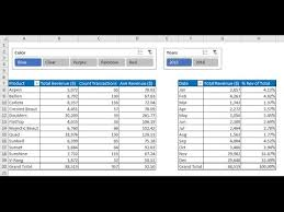 youtube pivot tables 2016 highline excel 2016 class 03 data analysis fundamentals