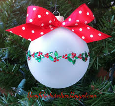 easy ornament embellishments using appliques christmas crafts