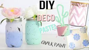 Paint Room Diy Deco 4 Deco Pastel Chambre Bureau Chalk Paint Room