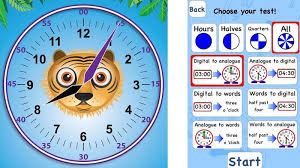 time learning clock best telling time apps that teach children to tell the