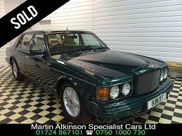 bentley brooklands used bentley brooklands u0027r u0027 for sale in scunthorpe lincolnshire
