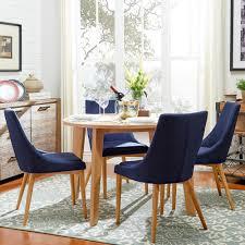 Blue Dining Rooms Homesullivan Nobleton 5 Piece Twilight Blue Dining Set 405048ak