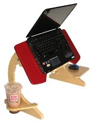 Laptop Bed Desk Ergonomic Laptop Stand Slash Tray Is For Those Who