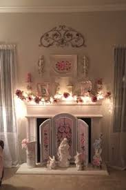 Shabby Chic Fireplaces by Vintage Mantle Piece Its Painted But It Looks Wonderful