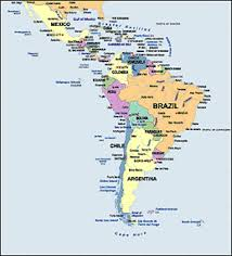 Central America Map And Capitals by Latin America Map Labeled My Blog