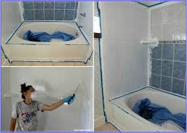 Painting Tiles In Bathroom Bathroom Tile Diy