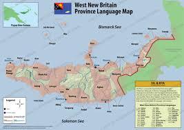 World Language Map by Language Distribution Maps Languages Of Papua New Guinea