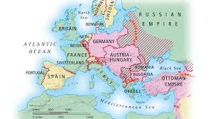 Map Of Europe After Ww1 by Where Was Wwi Fought Reference Com