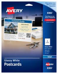 avery design pro 5 postcards avery