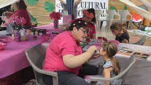 3 little pigs face makeup pig face paint face painting for mount isa show photos the north west star