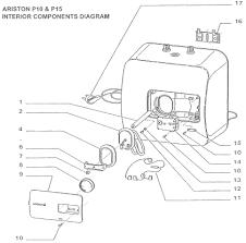 ariston water heater water heater ariston nano 10 liter sinar