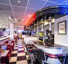 classic diner american 50 u0027s style diner in france diner counter