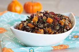rice pilaf with butternut squash healthy thanksgiving recipe