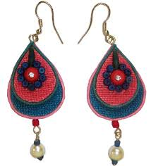 jute earrings top 9 jute jewellery designs styles at