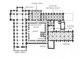 romanesque architecture plan