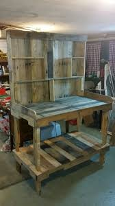 diy pallet work table 50 best potting bench ideas to beautify your garden pallets