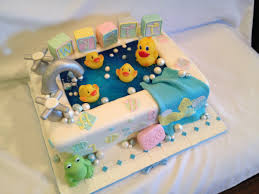 babyshower rubber duck in a tub cake check out my page at www