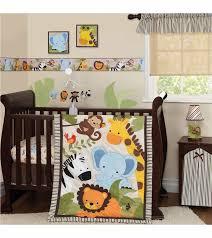 Unisex Crib Bedding Sets Bedtime Originals Jungle Buddies 3 Crib Bedding Set