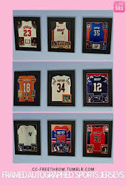 a3ru various drug clutter sims 4 downloads downloaded framed autographed jerseys at cc freethrow via sims 4