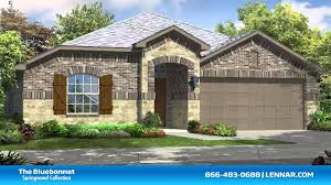 Lennar Homes Floor Plans by The Bluebonnet Lennar Dallas New Home Tour Youtube