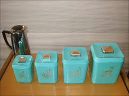 vintage kitchen canister kitchen glass canisters blue canister set tea and coffee