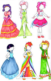 pony dresses by seeraphine on deviantart