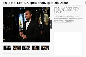 Leonardo Dicaprio Walking Meme - leonardo dicaprio wins the oscar