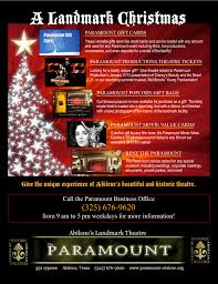 calendar of events the historic paramount theatre