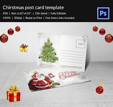 21 christmas post cards psd format download free u0026 premium