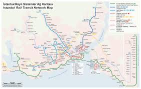 Metro Gold Line Map Marmaray Metro Map Turkey Raillynews Dailly Railway News In