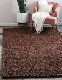 best color of carpet to hide dirt chocolate brown solid shag area rug
