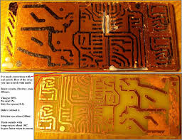 is the best pcb etchant in every kitchen 6 steps with pictures