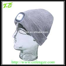 Knit Cap With Led Light Led Beanies Led Beanies Suppliers And Manufacturers At Alibaba Com