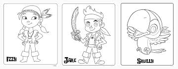 disney junior jake neverland pirates coloring pages photos