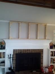 fireplace makeover phase adding height simply swider how to add