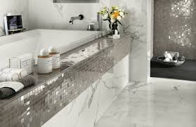mosaik im badezimmer elegante mosaik wandfliesen für moderne badezimmer