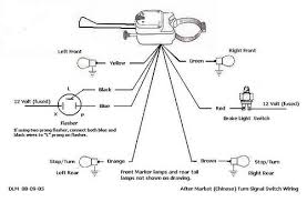 universal turn signal wiring diagram turn signals inside golf cart